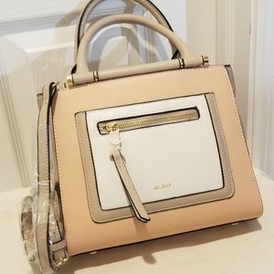 Aldo Crossbody Purse with Zippered Front